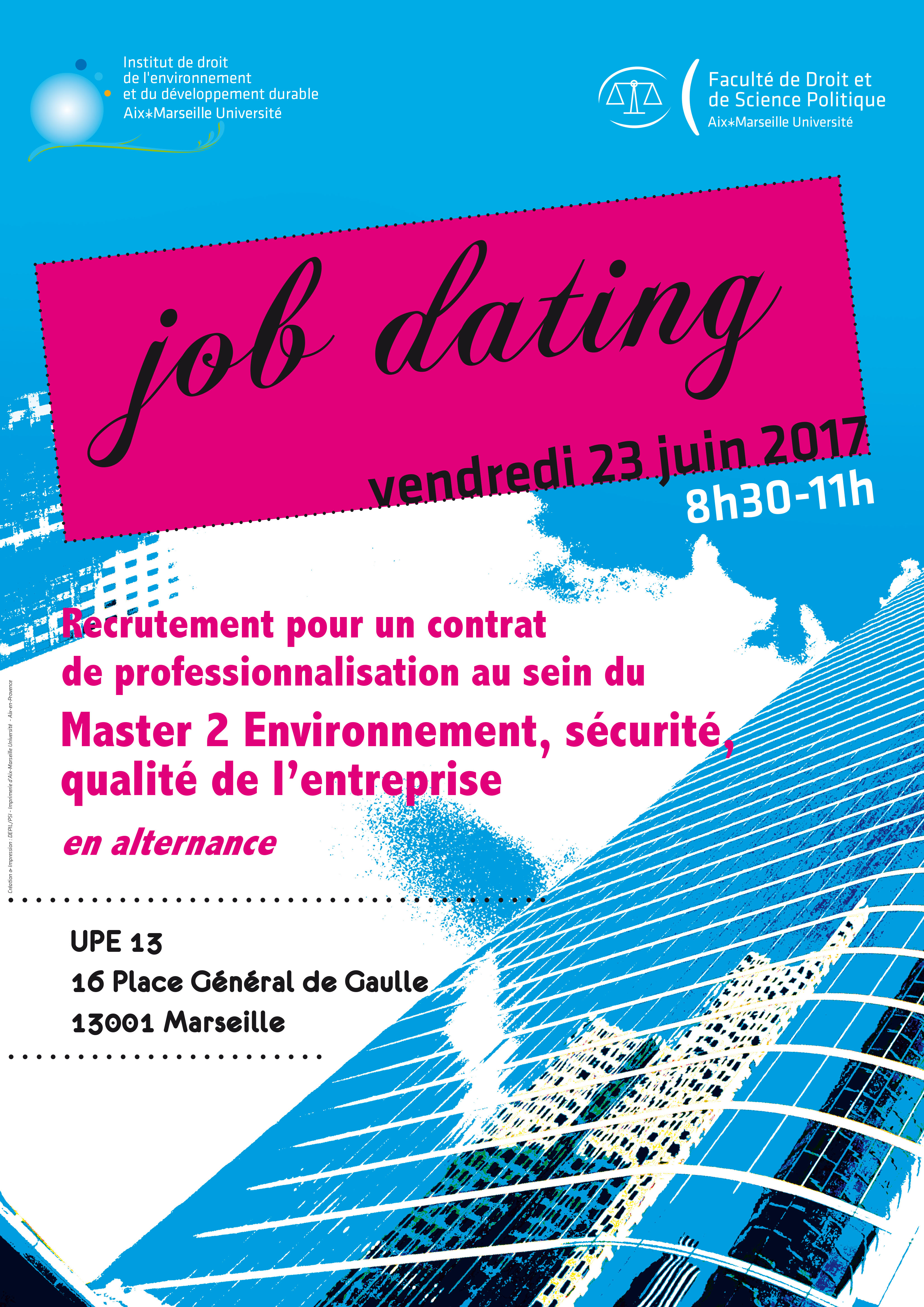 Job dating alternance marseille